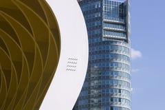 modern veinna för arkitekturdetalj Arkivfoto