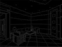 modern vektor för 02 korridor royaltyfri illustrationer