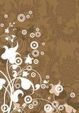 modern vektor för abstrakt illustra för bakgrundselement blom- royaltyfri illustrationer