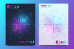 Modern vektormall för broschyr, broschyr, reklamblad, räkning, baner, katalog, tidskrift eller årsrapport Affär royaltyfri illustrationer