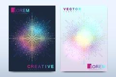 Modern vektormall för broschyr, broschyr, reklamblad, räkning, katalog, tidskrift eller årsrapport i formatet A4 Affär vektor illustrationer
