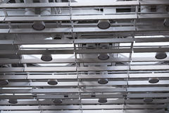 Modern ventilation system in a hall Royalty Free Stock Photos