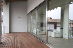 Modern veranda Stock Image