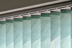 Modern vertical blinds on the window Royalty Free Stock Image