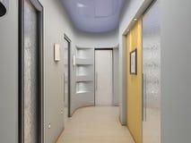 modern vestibule Στοκ Εικόνες