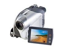 Modern video camera Royalty Free Stock Image