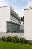 Modern villa. A modern villa with garden Stock Photos
