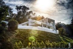 Free Modern Villa Royalty Free Stock Image - 33212186