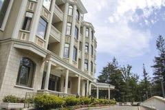 modern villa Royaltyfria Foton