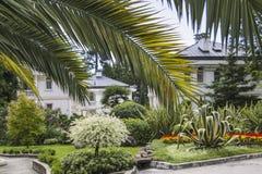 modern villa Arkivfoto