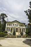modern villa Arkivbilder