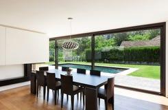 Modern villa, interior Royalty Free Stock Photo