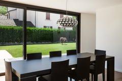 Modern villa, interior Royalty Free Stock Images