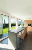 Modern villa, interior Stock Photos