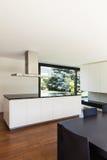 Modern villa, interior Stock Images