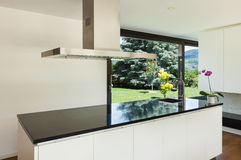 Modern villa, interior Royalty Free Stock Image