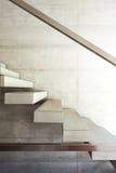 Modern villa, interior, stairs Stock Image
