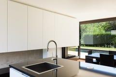 Modern villa, interior Stock Photo