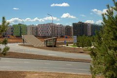 Modern It-village in Kazan district - Innopolis city, Russia Stock Images