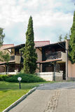 Modern villas Royalty Free Stock Photography
