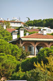 Modern villas. Quiet, calm and peaceful modern villas Royalty Free Stock Photo