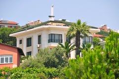 Modern villas. Quiet, calm and peaceful modern villas Stock Image