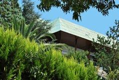 Modern villas. Quiet, calm and peaceful modern villas Stock Photography