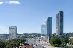 Modern Vilnius Royalty Free Stock Images
