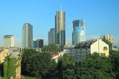 Modern Vilnius Royalty Free Stock Images