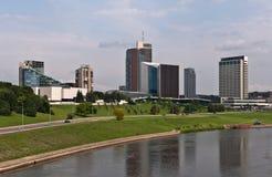Modern Vilnius Skyline Stock Image