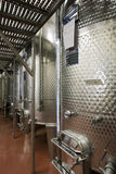 Modern vinery in Italy. In the land of barolo Royalty Free Stock Photography
