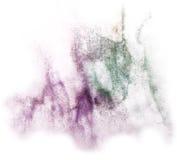 Modern violet, green art avant-guard wallpaper Royalty Free Stock Images
