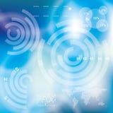 Modern virtual technology background Stock Photos
