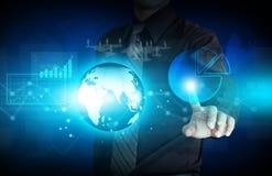 Modern virtual technology Stock Photo
