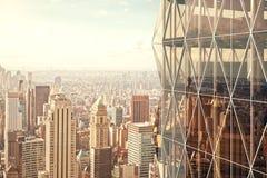 Modern vitreous skyscraper Royalty Free Stock Image