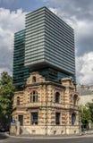 Modern Vs. Historic Building Stock Images