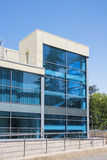 Modern vuilding with blue windows Stock Photos