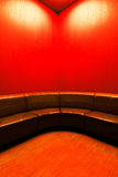 Modern waiting room interior with empty seats Stock Photography
