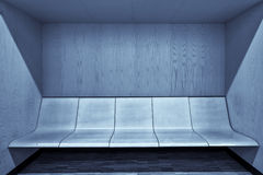 Modern waiting room interior with empty seats Stock Photo