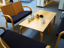 Modern waiting room reception Royalty Free Stock Image