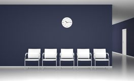 Modern waiting room Stock Images