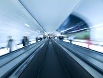 Modern walkway tunnel Royalty Free Stock Image