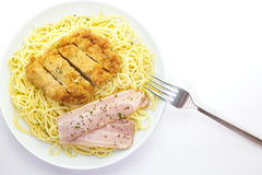 Spaghetti carbonara, Stock Photos