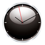 Modern wall clock Stock Photos