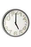 Modern Wall Clock Royalty Free Stock Photos