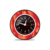 Modern wall clock icon Royalty Free Stock Photos