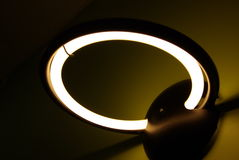Modern wall lamp Stock Photo
