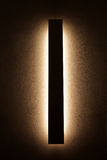 Modern wall lamp, interiors of a home Stock Photo