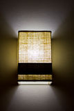 Modern wall lamp Stock Images