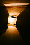 Modern wall lamp royalty free stock photography